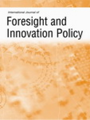 International Journal of Foresight and Innovation Policy