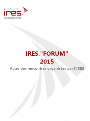 Acts of the seminars and study days of the IRES.FORUM activity in 2015