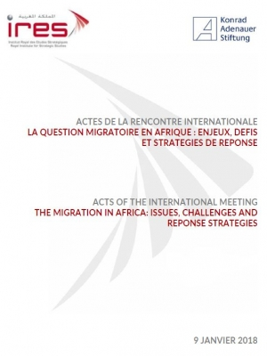 Acts of the international meeting the migration in Africa: issues, challenges and reponse strategies