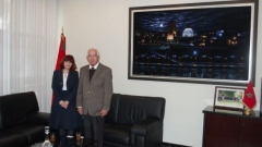 A high-level Australian delegation visits the IRES