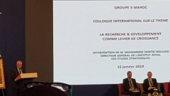 "Colloquium X-Morocco: ""Research & Development as a lever for growth"