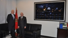 Visit to IRES of His Excellency, Dr. Götz SCHMIDT-BREMME Ambassador of the Federal Republic of Germany to Morocco