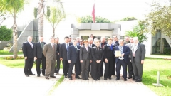 Visit of an American Delegation of the Air War College (March 10,2014)