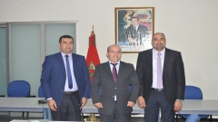 Visit of an Iraqi delegation to IRES (April 30,2014)