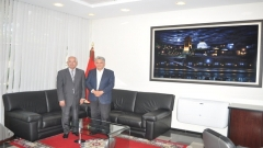 Visit to IRES of the ambassador of MEXICO to MOROCCO (July 3,2014)