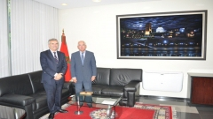Visit of the Director General of Casa Arabe to IRES (November 25,2014)
