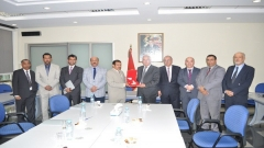 A visit of a delegation from the Sultanate of Oman to IRES (April 24,2015)