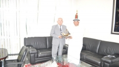 Visit of delegation of the Emirates centre for strategic studies and research (june 5,2015)