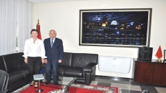 Visit to IRES of the Ambassador of the Czech Republic to Morocco (June 23,2015)