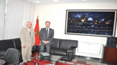 Visit to IRES of the UNESCO' Director of Foresight (June 25,2015)