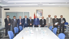 A visit of a delegation from the Sultanate of Oman to IRES (August 28,2015)