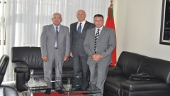 Visit to IRES of the Ambassador of Italy to Morocco (September 21,2015)