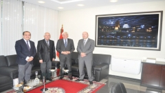 Visit to the IRES of the Ambassador of Poland to Morocco (December 11,2015)