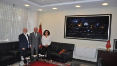 Visit to IRES of Dr. Canan ATILGAN, Director at the Konrad Adenauer Foundation