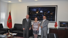 IRES visit of Her Excellency Mrs. Gloria G. LED YOUNG, Ambassador of the Republic of Panama to Morocco