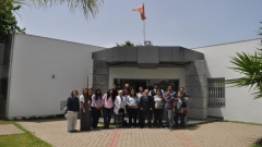 Visit to the IRES of a group of graduate and post-graduate students from Arizona State University