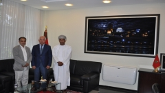 Visit to IRES of His Excellency Mr. Abdullah BIN OBAID AL-HINAI, Ambassador of Sultanate of Oman in Morocco