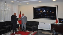 Visit to IRES of His Excellency Mr. Ahmed Ihab JAMAL EDDINE, Ambassador of Egypt to Morocco