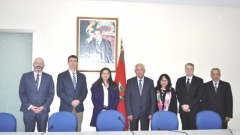Visit to IRES of a high-level Canadian delegation