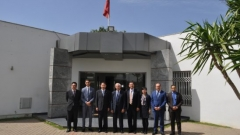 Visit to IRES of a high-level Chinese delegation