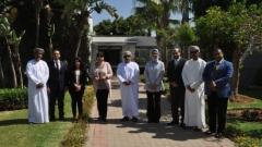 The IRES receives a high level delegation from the Sultanate of Oman for a working session