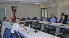 Development meeting with the working group to conduct the rural middle class study