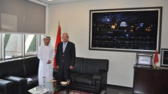 Visit of the Minister Plenipotentiary at the Embassy of the United Arab Emirates