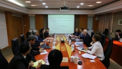Working visit of IRES delegation to Shanghai Institutes for International Studies.