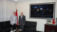 Working meeting with Mr. Li LI, Ambassador Extraordinary and Plenipotentiary of the People's Republic of China in Morocco