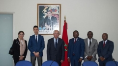 Visit to IRES of a delegation from the African Development Bank