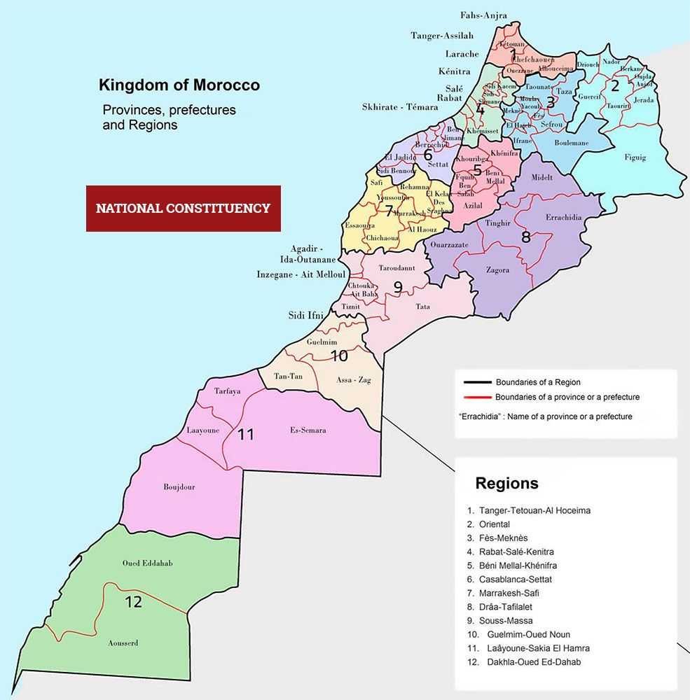 Glossary of the Moroccan Sahara Issue